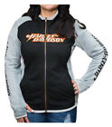 Harley-Davidson Women's Colorblock Side Track Zip Track Jacket w/ Thumbholes $86.95 USD on eBay