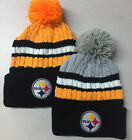 Pittsburgh Steelers Pom Pom Beanie Skull Cap Hat Embroidered PIT $10.75 USD on eBay