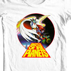 Battle of Planets T-shirt Free Shipping 80's Saturday Morning cartoon cotton tee image