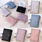 Women Mini Wallet Faux Leather Credit Card Coin Zipper Purse Holder Handbag Girl image