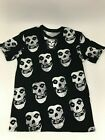 Mens T-Shirt All Over Fiend Print Horror Punk Band Misfits CHOOSE A SIZE image