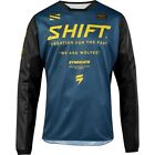 Shift White/Whit3 Label Muse Mens MX Offroad Jersey Navy