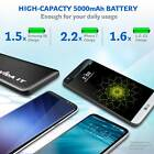 Ultra Thin Power Bank Portable USB Charger Lead For Charging Apple Samsung Phone