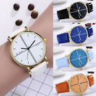 Womens Faux Leather Watch Ladies Casual Analog Quartz Fashion Wrist Watches SB image