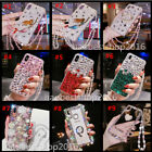 Luxury Handmade Bling crystal Diamonds Soft back Phone Cover Case Skin For HTC 2