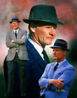 Tom Landry Dallas Cowboys HOF HOF Head Coach Art 1  8x10 - 48x36
