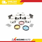 Pistons w/ Rings Power-Improved fit 97-15 Ford Lincoln 5.4L SOHC 16V