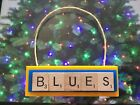 St Louis Blues Christmas Ornament Scrabble Tiles Magnet $2.99 USD on eBay