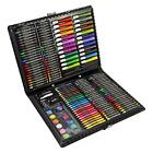 Childrens Kids Professional Stationary Artists Art Set Colouring Drawing Paints