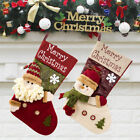Large Merry Christmas Stockings - Xmas Home Decorations