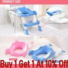Toddler Toilet Chair Kids Potty Training Seat Toilet With Step Stool Ladder Hot image