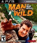 Man vs. Wild With Bear Grylls Sony PlayStation 3 cleaned, buffed & repaired 100%