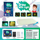 Kids Draw With Light Fun And Developing Toy Drawing Board Magic Draw Educational