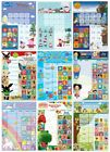 A3 REWARD CHART & STICKERS - Teacher Aid Potty Training Chart School Childrens