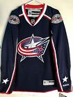 Reebok Premier NHL Jersey Columbus Blue Jackets Team Navy sz M $19.5 USD on eBay