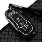 4Button Remote Key Fob Cover Alloy Case For Ford Mustang F-150 for Lincoln Mkz