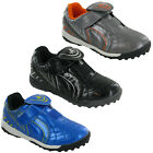 Ascot Trainers Boys Childrens Kids Touch Fasten Astro Turf Trainers UK 10-2
