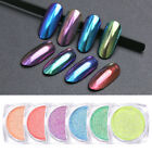 BORN PRETTY 1g Shelly Effect Nail Glitter Powder Nail Art Chrome Pigment Decors