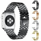 38/44mm Stainless Steel iWatch Strap Band For Apple Watch Series Bracelet Gifts image