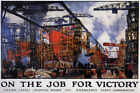 On The Job For Victory WW2 US military poster $15.99 USD on eBay