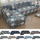L-Shape 1/2/3/4 Seat Stretch Elastic Sofa Cover Sectional /Corner Couch Cover HL
