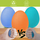Silicone Squeeze Egg Grip Hand Finger Exercise Stress Relief Therapy Ball Gym US image