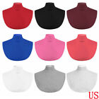 Women Men False Mock Collar Neckline Dickey Fake Neck Bib Turtleneck Neck Warmer