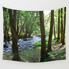 Wall Tapestry Wall Hanging Printed in USA Photo 28 landscape forest wood L.Dumas