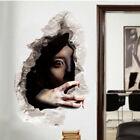 3d Scary Horror Wall Sticker Removable Halloween Party Home Decal Decor Hc