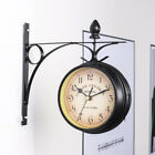 Retro Double Sided Grand Central Station Train Station Clock