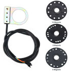 Electric Bike Steel PAS Pedal Assist Cadence Sensor 5/8/12 Magnet Ebike Parts