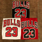 #23 Michael Jordan Chicago Bulls Men's or Youth Stitched Jersey RED/BLACK/WHITE