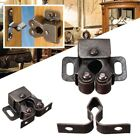 5/10 Pcs Double Ball Roller Catches Cupboard Cabinet Door Latch Hardware Copper