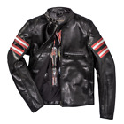 Dainese Rapida72 Black Leather Retro Jacket Motorcycle Jacket New