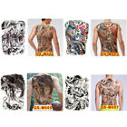 Huge design full back temporary tattoo large body art waterproof sticker Pip DO $16.1 USD on eBay