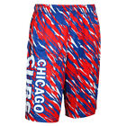 Chicago Cubs MLB Repeat Print Polyester Shorts By Forever Collectibles on Ebay
