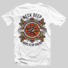 Rare! Neck Deep T Shirt Hope Is Up A Head Unisex Vintage All Size F844 image