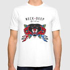 New! Neck Deep Band White T-shirt Short Sleeve Graphic Size S-234XL F855 image