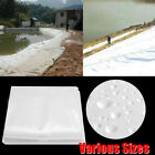 Pond Liner Fish Pool Heavy Duty Greenhouse Cover Garden Grow House Patio Home