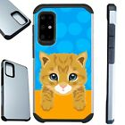 FUSION Case For Samsung Galaxy S20 Note 10 Phone Cover  CUTE CAT TABBY