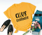 Women Chaos Coordinator Blouse Ladies Top Letter Print Tee Funny Casual T-Shirt