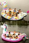 Kyпить Inflatable 6 Person Raft Boat Floating Party Lake Float Unicorn or Zebra на еВаy.соm
