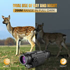 5X35 Day&Night Vision Monocular Telescope HD Camping Hunting Hiking Travel Scope image
