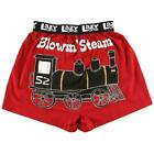 Lazy One Blowin' Steam Men's Boxers
