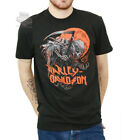 Harley-Davidson Mens Full Moon Grim Reaper Black Short Sleeve T-Shirt $14.99 USD on eBay