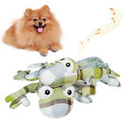 FJ- Cy_ BH_ Pet Dog Lizard Plush Sound Doll Molar Soft Chew Interative Squeak To