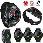 Bluetooth Smart Watch Wrist Phone Watch Alarm Clock For iOS Android Smart Phone