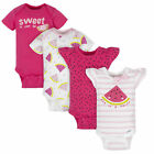 Gerber Baby 4-Pack Girls Watermelon Short Sleeve Onesies Bodysuits for sale  Shipping to South Africa
