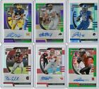 2020 Prizm Draft Football Rookie Refractor Auto Color Pick Your Card Player $7.99 USD on eBay
