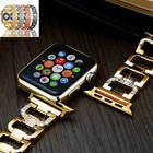 Bling Diamond Aluminum adjust the length Wrist Band For Apple Watch iWatch 38/42 image